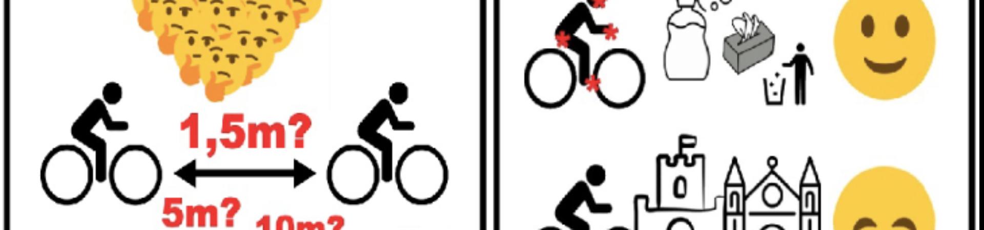 Hogyan kerékpározz egyedül a koronavírus válság alatt